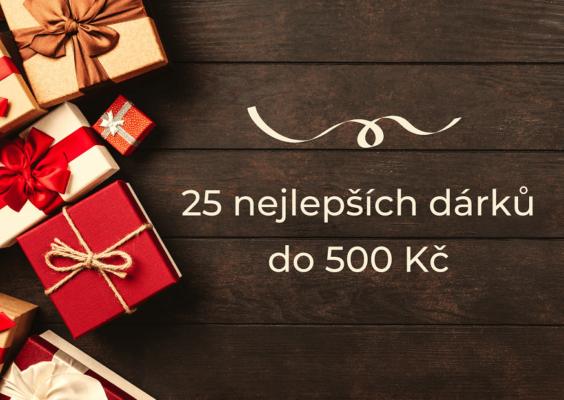 25 nejlepších dárků do 500 Kč, které nikoho neurazí
