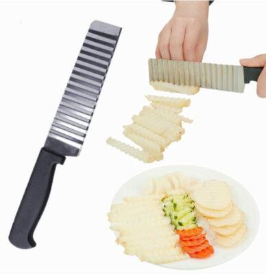 Nůž na vroubkované hranolky z AliExpress